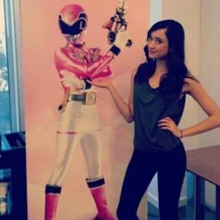 Who is Emma Goodall The Pink  Super megaforce  Ranger?