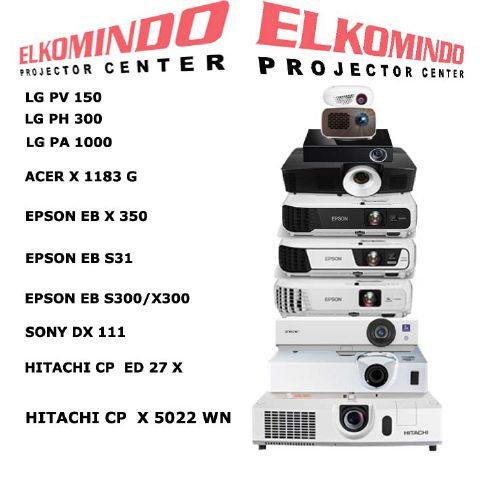 Who is ELKOMINDO PROJECTOR CENTRE BEC?