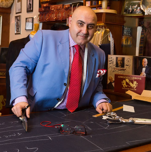 Who is Adriano Carbone Australia's Master Tailor?