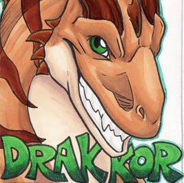 Who is Drakkor Dragon?