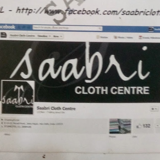 Who is Saabri Cloth Centre?