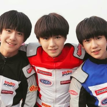 Who is TFBoys漫画屋投稿区?