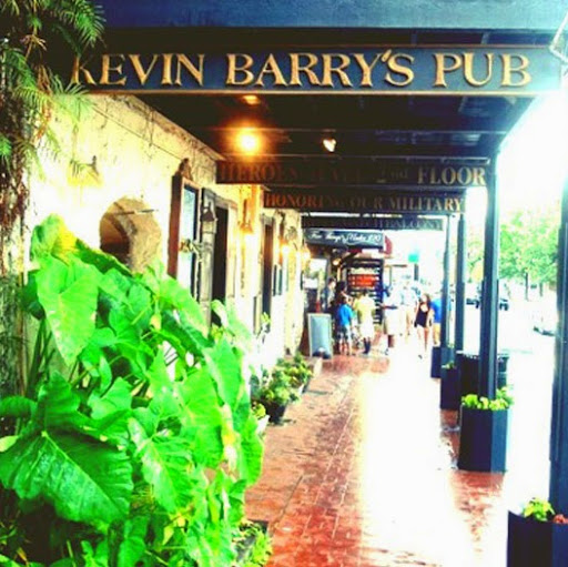 Who is Kevin Barry's?