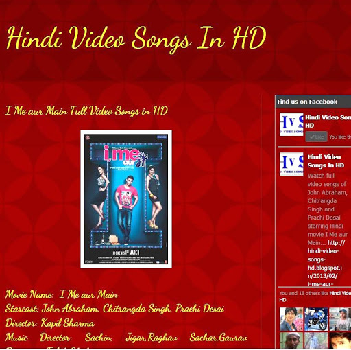 Who is Hindi Video Songs in HD?