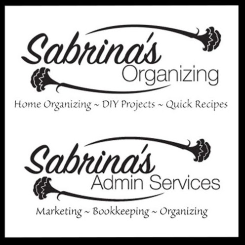 Who is Sabrina's Organizing & Admin Services?