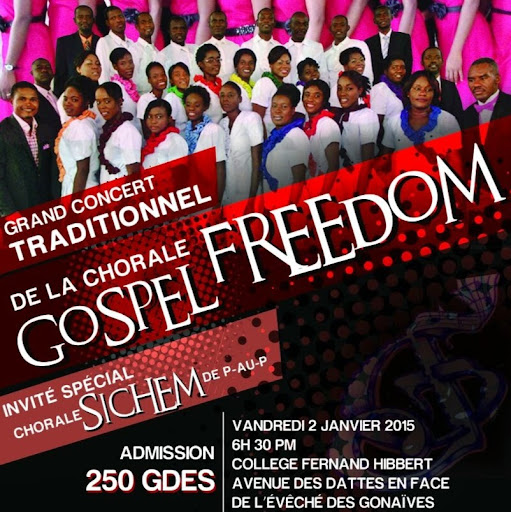 Who is Chorale Freedom Gonaives?