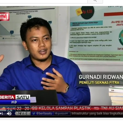 Who is Gurnadi Ridwan?