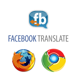 Facebook Translate Browser Extension instagram, phone, email