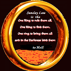 Who is Sunday Law is the One Ring to Rule Them all?