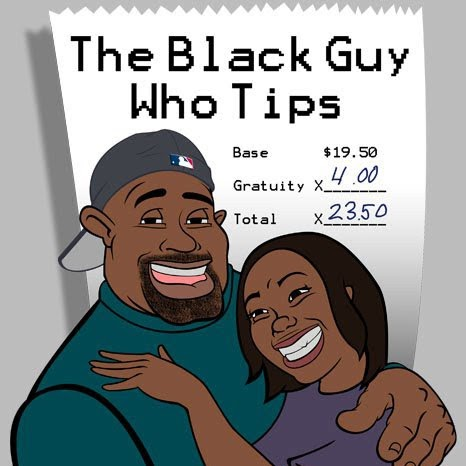 The Black Guy Who Tips photo, image