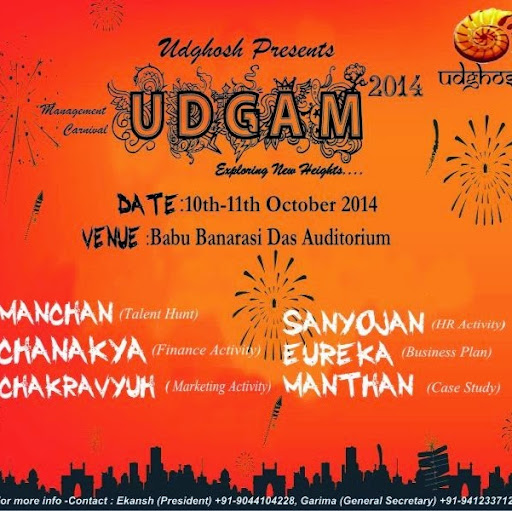 Who is bbd udgam?