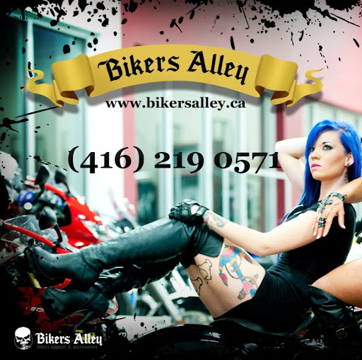 Who is bikers alley?