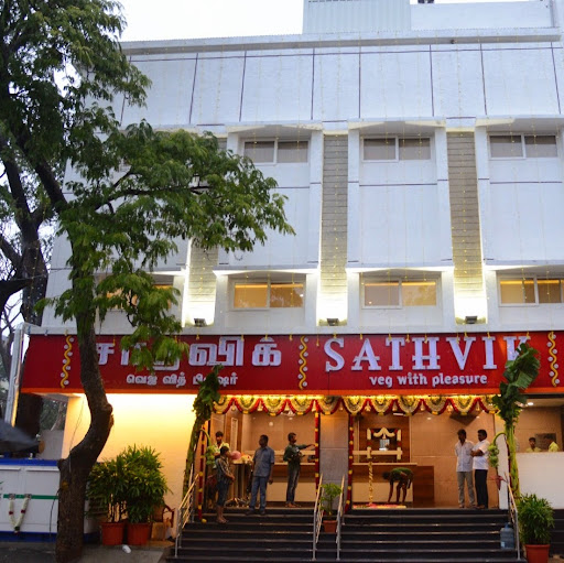 Who is Sathvik Restaurant?