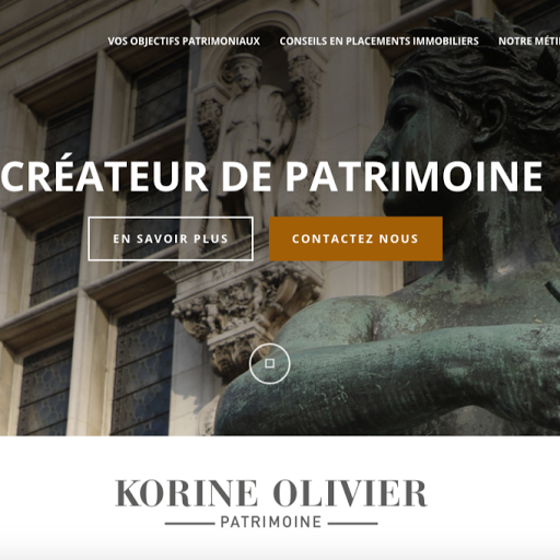 Who is Korine Olivier Patrimoine?