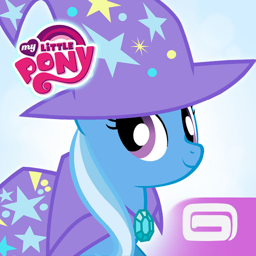 Who is MY LITTLE PONY от Gameloft?