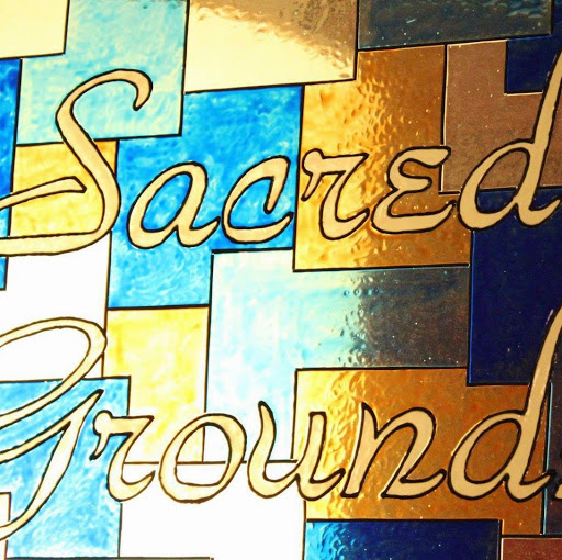 Who is Sacred Grounds Coffeehouse?