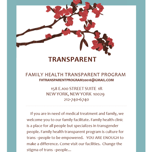 Who is FAMILY HEALTH TRANSPARENT PROGRAM?
