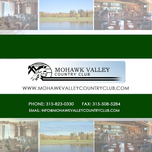 Mohawk Valley Country Club instagram, phone, email