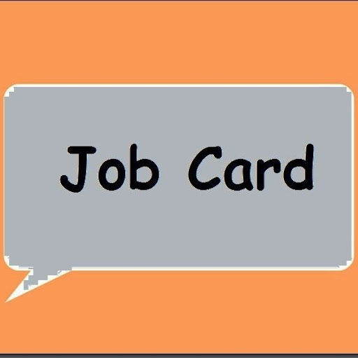 Job Card instagram, phone, email