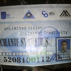Who is Chanif Samsyir?