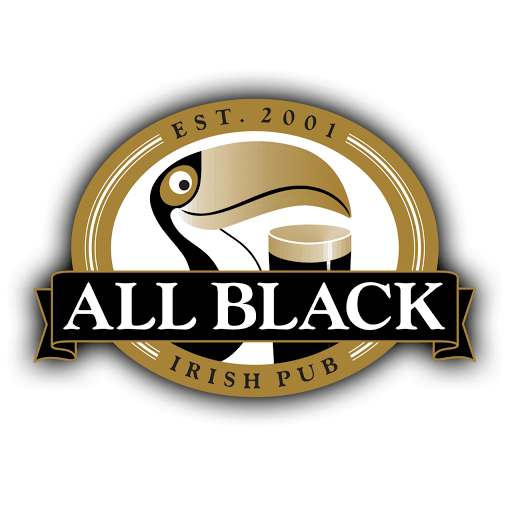 All Black Irish Pub instagram, phone, email