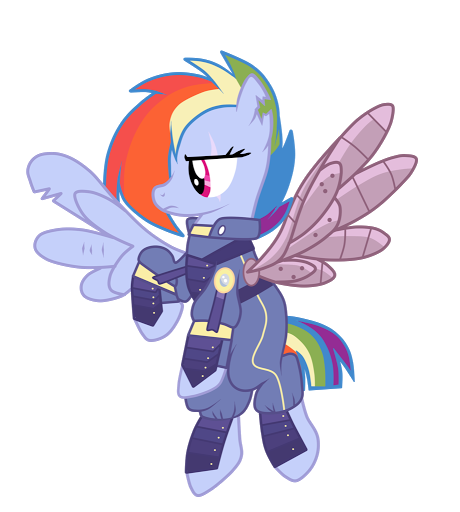 Who is Rainbow Dash?