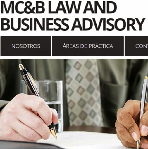 Who is MC&B LAW AND BUSINESS ADVISORY SAS?