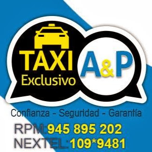 Who is TAXI EXCLUSIVO REMISSE PERU A&P?