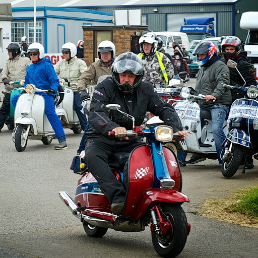 Who is BWM Scooter & Ska Rally?