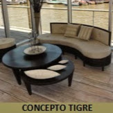 Concepto Tigre instagram, phone, email